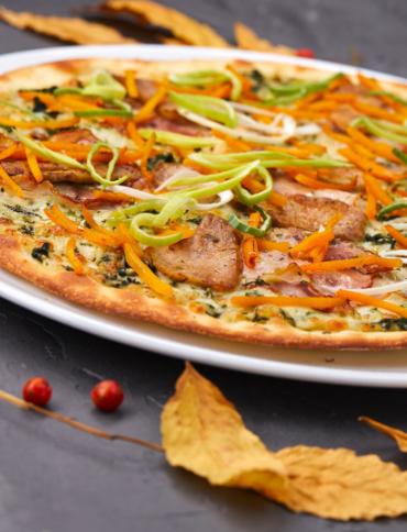 Recette de pizza sauce carotte